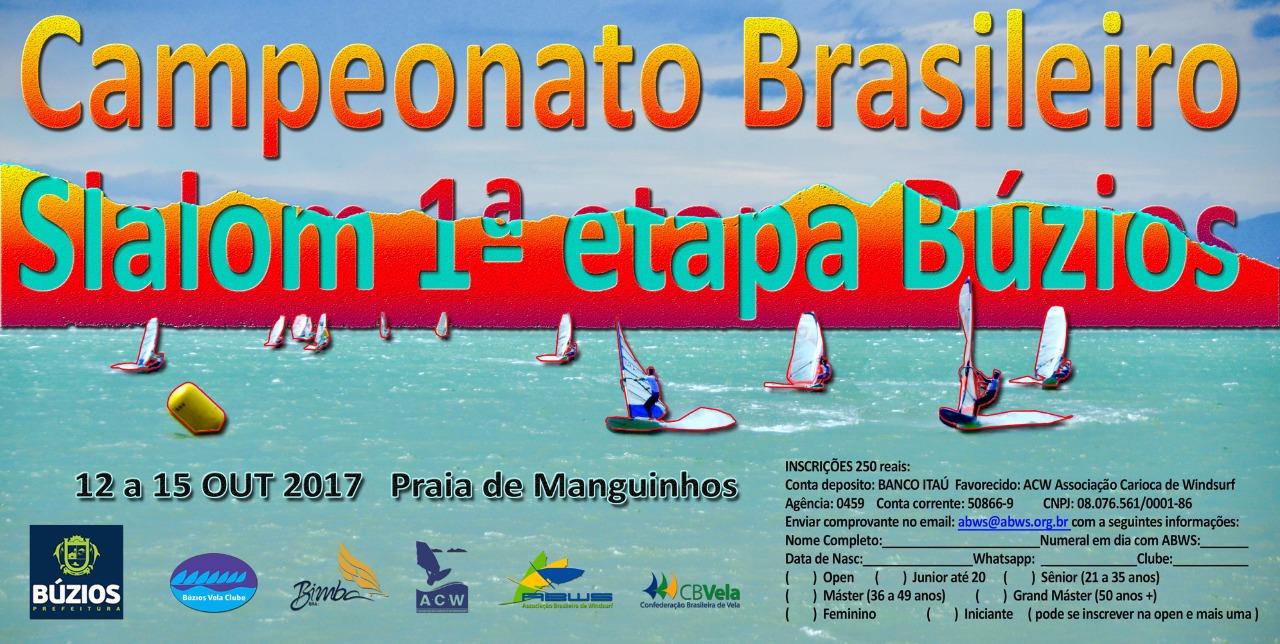 Campeonato Brasileiro Slalom - 1 Estapa Buzios