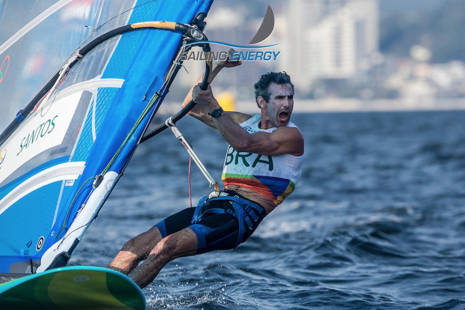 Bimba velejando e vibrando nos jogos do Rio 2016
